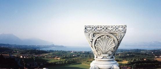 Carrara gjutmarmor för park och trädgård