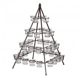 """Ljusstake """"Pyramid"""" – Grevinnans Butik & Inredning"""