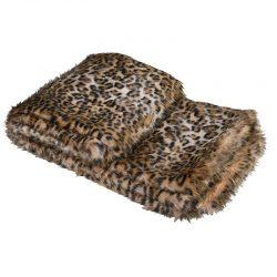 """Pälspläd """"Leopard"""" – Grevinnans Butik & Inredning"""