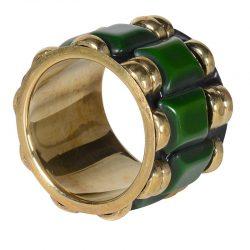 """Servettring """"Emerald"""" – Grevinnans Butik & Inredning"""